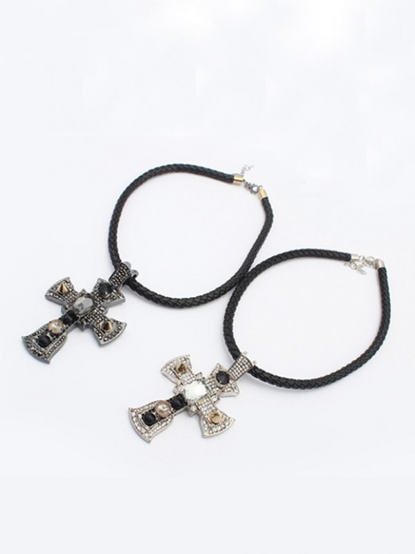Westen Punk Retro Cross Hot Sale Halskette