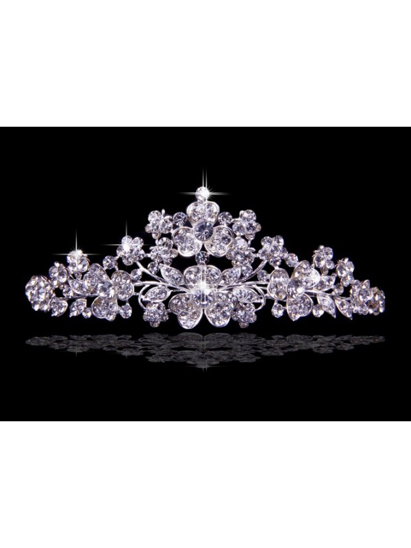 Nice Alloy With Czech Rhinestones Wedding Headpieces
